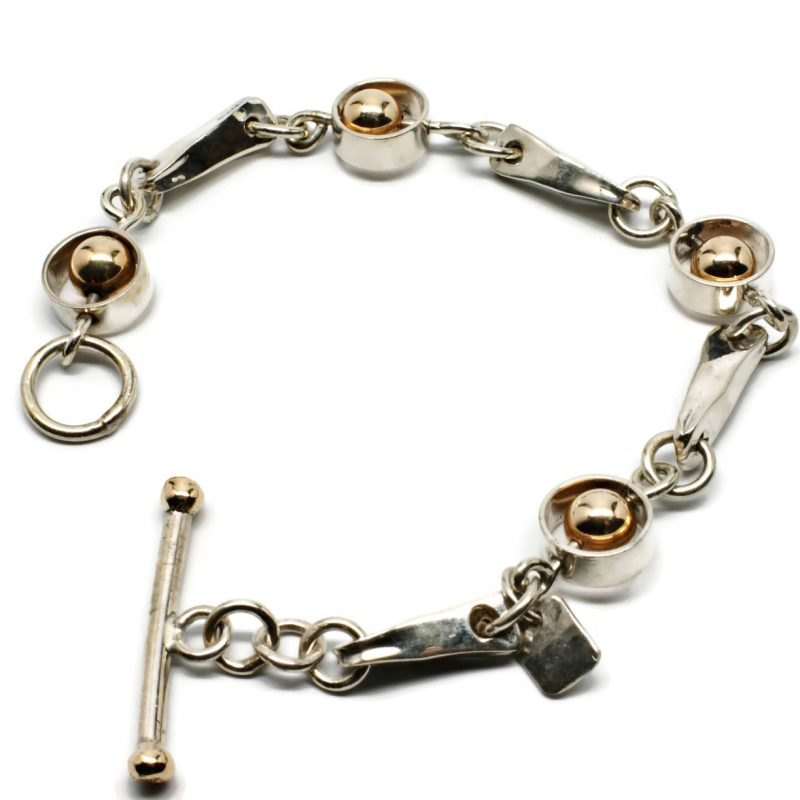 Encircled Gold Bracelet